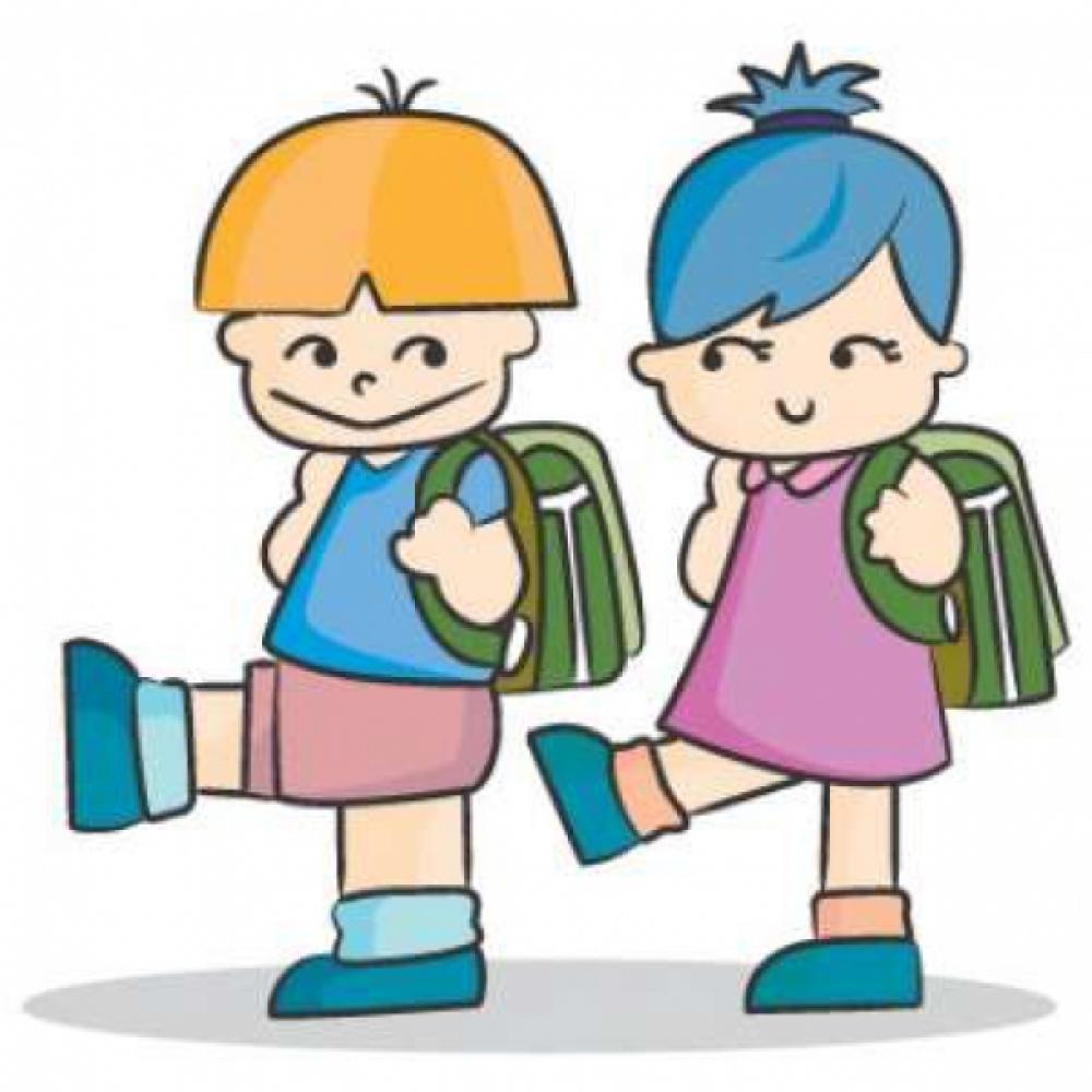 скачать картинку дети идут в школу